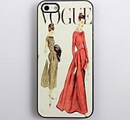 Hard Case Fancywork design de alumínio moderno para iPhone 5/5S