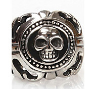 Z&X®  Men's Fashion Skull Titanium Steel Ring