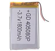 "Sostituzione universale 3.7V 2200mAh Li-polymer Batteria per 7 ~ 10 ""Macbook Sony Tablet PC Samsung Acer Apple (4 * 50 * 80)"