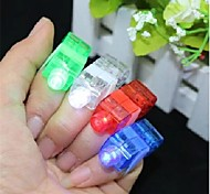 Colorful LED Laser Finger Light 8 pcs (Random Color)