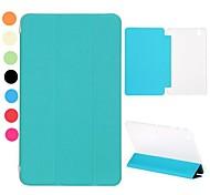 tri-fold stand auto slaap / waak-lederen tas voor Samsung Galaxy Tab 8.4 Pro T320