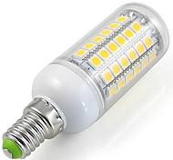 Juxiang Lâmpada Espiga Decorativa E14 7 W 750 LM 6000 K Branco Frio 69 SMD 5050 AC 220-240 V Encaixe Embutido