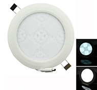 twp twp-11 11w 990lm 6500k 55 SMD 2835 levou rodada branco floral painel de luz - branco (AC 85 ~ 265V)