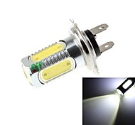 H7 7.5W  5xCOB LED 700lm 6500k White Light LED For Car Headlamp - 10-30V
