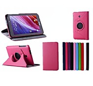 7 Inch 360 Degree Rotation Stand Case for ASUS  FonePad 7 FE170CG (Assorted Colors)