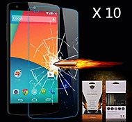 Ultimate Shock Absorption Screen Protector for LG Nexus 5 (10PCS)