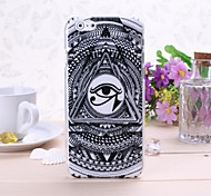 Abstract Eye Pattern Plastic Hard Cover for iPhone 6