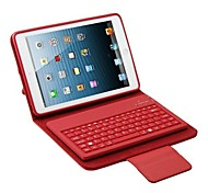 Silicone TPU Leather Case with Removable Silicone Keyboard for iPad mini (Assorted Colors)