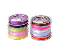 Korean Elastic Cord (10 meters/Roll) (Multicolor)