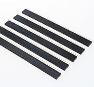GDW AZ13 40-Pin 2,54 mm Stiftleisten - schwarz (5 Stück)