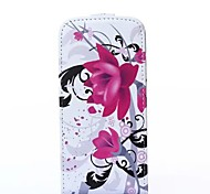 Alfalfa Pattern Flip-open PU Leather Cover with Card Slot for iPhone 6