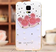 Diamond PINK Back Cover Case for SAMSUNG Galaxy S5 I9600