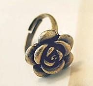 Corée bijoux Vente en gros rétro alliage rose bague
