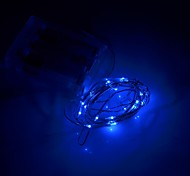 Xinyuanyang®  0.8W 100lm  20 x SMD 0603 LED  Blue  Flexible String Light - (3 x AA / 200cm)