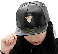 Unisex Leather Baseball Cap , Casual All Seasons