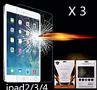 Ultimate Shock Absorption Screen Protector for iPad 2/3/4 (3PCS)