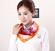Women Satin Scarf , Cute/Work/Casual