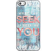 Seek You Design Aluminium Hard Case for iPhone 4/4S