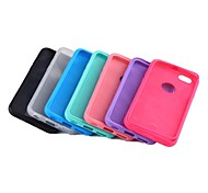 TPU Wrap-up Cover Case with Built-in Screen Protector for iPhone 6/6S (Assorted Color)