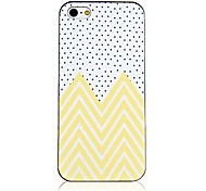 Freshness Wave Point Pattern Back Case for iPhone 4/4S