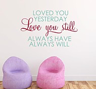 JiuBai™  Love Home Decoration Wall Sticker Wall Decal