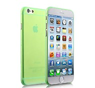 Ultra-thin Frosted PC Back Case for iPhone 6 (Assorted Color)