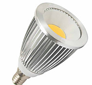 7W E14 LED Spotlight MR16 1 High Power LED 550-630 lm Cool White DC 12 V