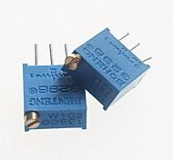 3296 Potentiometer 1kohm Adjustable Resistors - Blue (10 PCS)