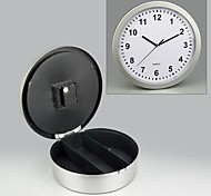 Hidden Safe Wall Clock Mystery Clock Safe 25x6.8x2cm
