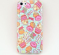 Fashionable Popcorn Pattern Silica Gel Soft Case for iPhone 5C