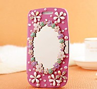 Hand Made Mirror Diamond Leather Full Body Case with Magnetic Snap for SAMSUNG GALAXY S3 I9300(Assorted Colors)