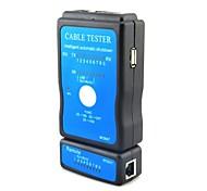 M726AT LAN RJ45 RJ11 USB Cable Tester - Black + Blue