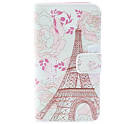 Pink Towel Style PU Leather Case with Card Slot and Stand for Samsung Galaxy Trend i699