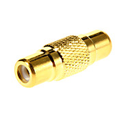 RCA Female to Female Gold-plated Adapter