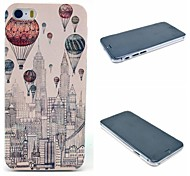 Flying New York City Pattern Hard Cover for iPhone 6