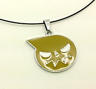 Soul Eater Yellow Alloy Cosplay Necklace