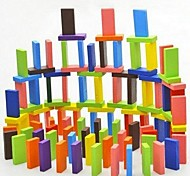 Children's Wooden Educational Toys Color Domino (120 pieces)