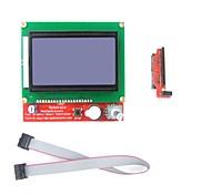 LCD 12864 Graphic Smart Display Controller for  Arduino 3D Printer RepRap RAMPS1.4 Mendel Prusa