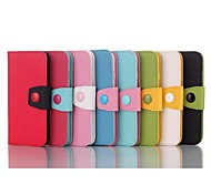5.5 Inch Color Matching Pattern Wallet Leather Case  for iPhone 6 Plus(Assorted Colors)