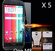 Ultimate Shock Absorption Screen Protector for HTC M8 (5PCS)