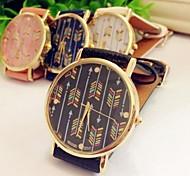 Women's Fashion Spell Color Jelly Quatz Geneva Watch Assorted Colors D0073