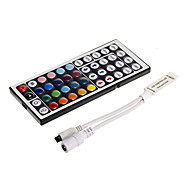 6A 72W IR 48-key RGB MINI LED Remote Controller for RGB LED Light Strip (DC12V)