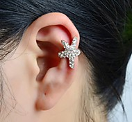 Stone Set Star Ear Cuff