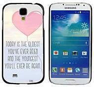 milocos ™ любящего сердца молодой вы всегда будете иметь снова жесткий футляр для Samsung Galaxy s4 i9500