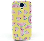 Yellow Watermelon Cartoon Pattern Hard Case Cover for Samsung Galaxy S4 I9500