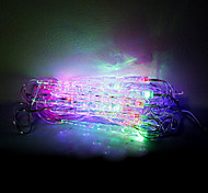 4M 20 LEDs Christmas Halloween decorative lights festive strip lights-Small icicles (220V)