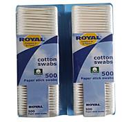 500Pcs Makeup Cotton Stick Paper Stick