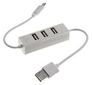 Hub USB 2.0 ad alta velocità per il caricatore del telefono mobile