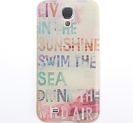 Live Style Design Soft Case for Samsung Galaxy S4