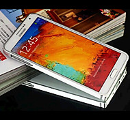 Solid Color Metal Metal Finish  Bumper Case for  Samsung Note 2 N7100(Assorted Color)
